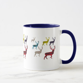 Tartan Stag Mug