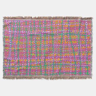 Tartan  Tapestry Throw Blanket
