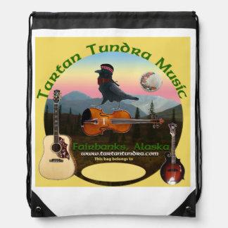 Tartan Tundra Drawstring Backpack