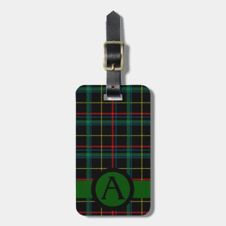 Tartan Twist Luggage Tag
