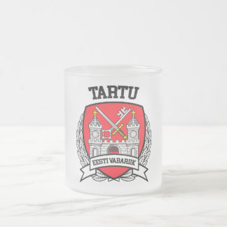 Tartu Frosted Glass Coffee Mug
