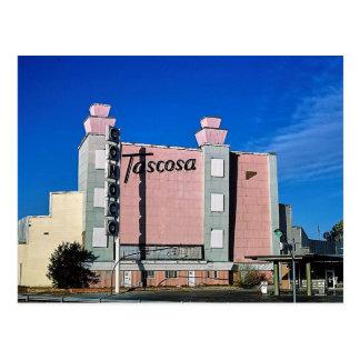 Tascosa Drive-In Theater, Amarillo, Texas Postcard