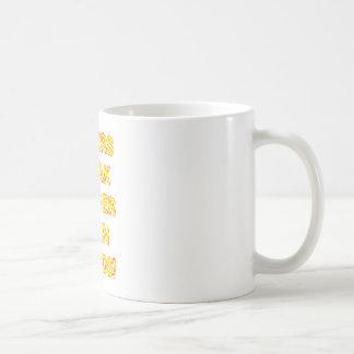 Taser Basic White Mug
