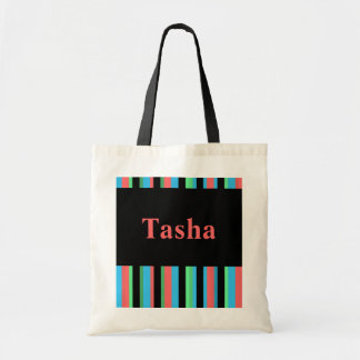 Tasha Pretty Striped Tote Bag