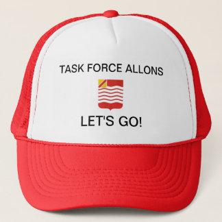TASK FORCE ALLONS, LET'S GO! TRUCKER HAT