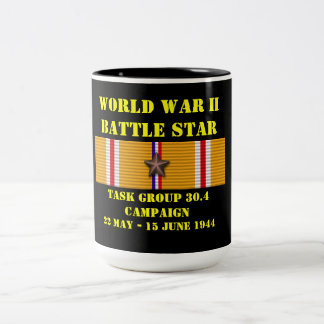 Task Group 30.4 Campaign Two-Tone Mug
