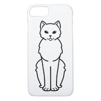 Tasman Manx Cat Cartoon iPhone 7 Case