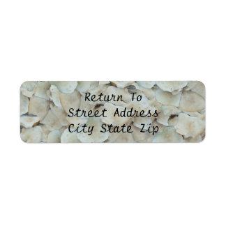 Tasman Mushroom Heads Return Address Label