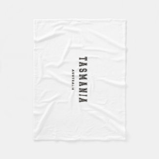 Tasmania Australia Fleece Blanket