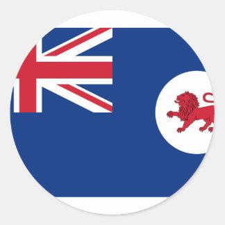 Tasmania, Australia Round Sticker