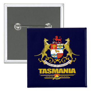 Tasmania COA 15 Cm Square Badge