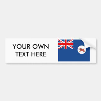 Tasmania Flag Bumper Sticker