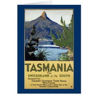 Tasmania Switzerland of the South Card