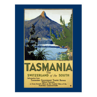 Tasmania ~ Switzerland of the South Postcard