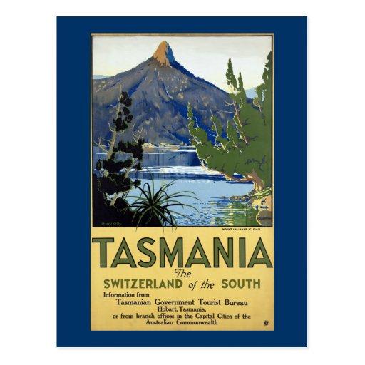 Tasmania ~ Switzerland of the South Post Card