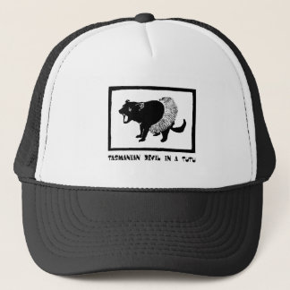 Tasmanian Devil in a Tutu Trucker Hat