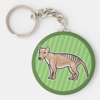Tasmanian Tiger Key Ring