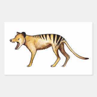 Tasmanian tiger, Thylacine Rectangular Sticker