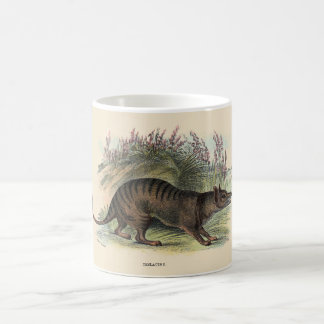 Tasmanian wolf mug
