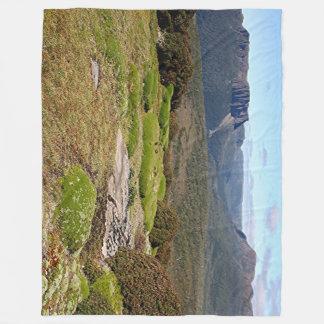 Tasmania's Overland Track 2 Fleece Blanket