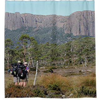Tasmania's Overland Track Shower Curtain