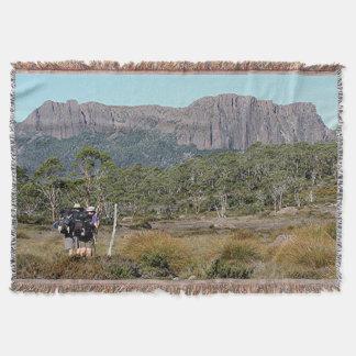 Tasmania's Overland Track Throw Blanket