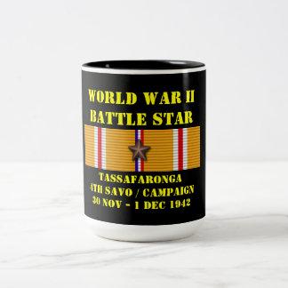 Tassafaronga ( Fourth Savo ) Campaign Two-Tone Coffee Mug