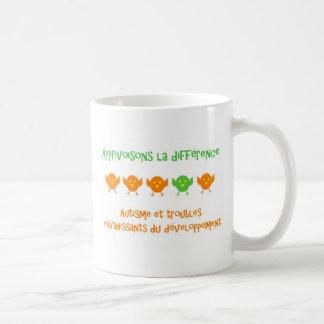 Tasse Apprivoisons la différence Coffee Mug