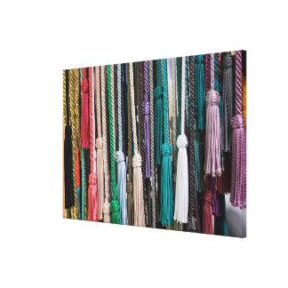 Tassels At Market Canvas Print