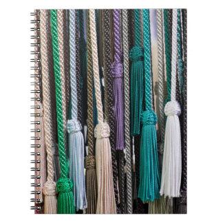 Tassels At Market Spiral Notebook