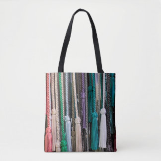 Tassels At Market Tote Bag
