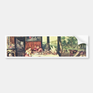 Taste By Bruegel D. Ä. Jan (Best Quality) Bumper Stickers