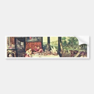 Taste By Bruegel D. Ä. Jan Bumper Stickers