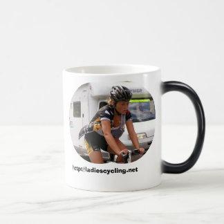 Taste the beautiful side of cycling magic mug