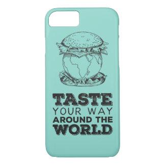Taste your way around the world iPhone 7 case