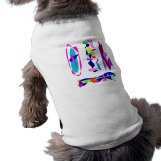 Tastes Sleeveless Dog Shirt