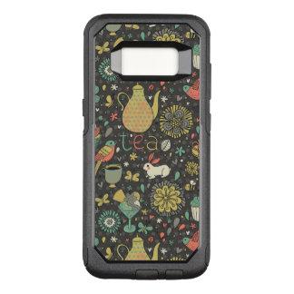 Tasty bright Tea Card OtterBox Commuter Samsung Galaxy S8 Case