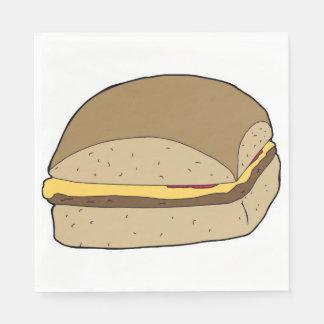 Tasty Burger Napkins Disposable Napkin