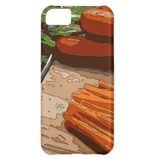 Tasty Carrots Onions and Celery Chopped Up iPhone 5C Case