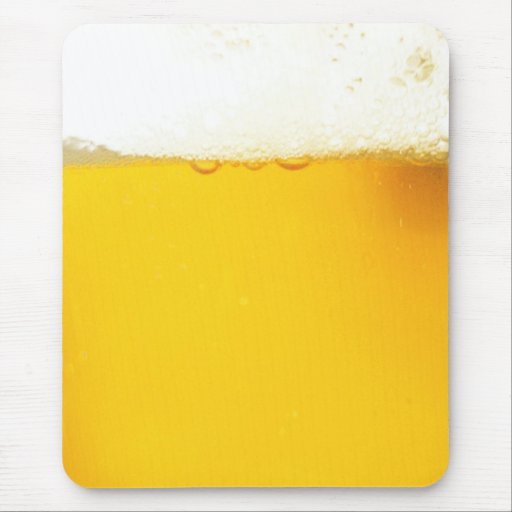 Tasty Cool Beer Mousepad