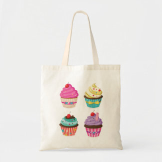 Tasty Cupcakes Tote Bag