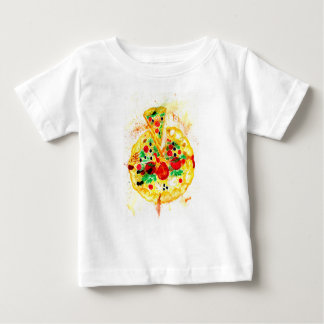 Tasty Pizza Baby T-Shirt