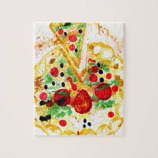 Tasty Pizza Jigsaw Puzzle