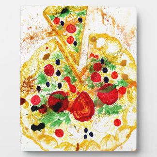 Tasty Pizza Plaque