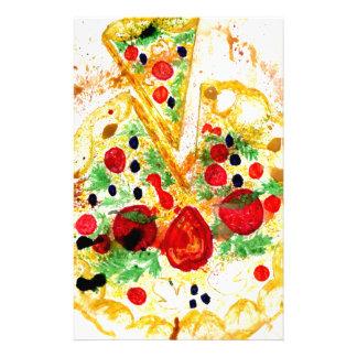 Tasty Pizza Stationery