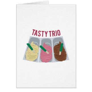 Tasty Trio Greeting Card
