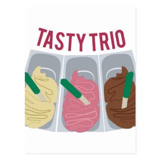 Tasty Trio Postcard