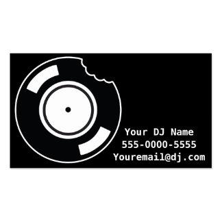 Tasty Vinyl DJ Business Card Business Card Templates