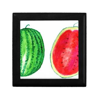 Tasty Watermelon Art Gift Box