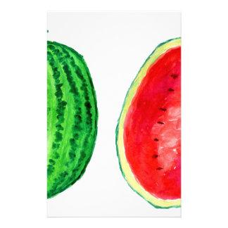 Tasty Watermelon Art Stationery